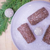Mini Yule Logs