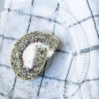 Swiss Roll with Poppyseed and Jam